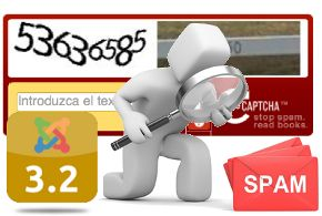 Habilitar reCAPTCHA en Joomla! 3.x para frenar el spam