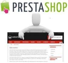 Añadir items nuevos en el menú principal horizontal de la Tienda en PrestaShop