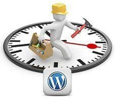 Modo Mantenimiento en WordPress con Contador Regresivo
