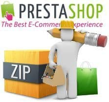 "Instalar un tema de PrestaShop a partir de un archivo ""quickstart"""