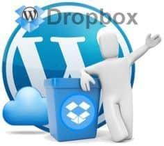 Copia de seguridad de WordPress en Dropbox