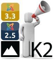 Próximas novedades de K2 para Joomla