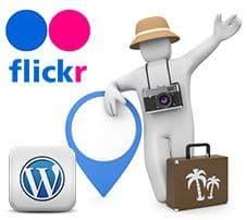 Insertar un álbum de Flickr en WordPress