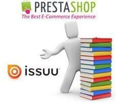 Inserta Libros Digitales en PrestaShop con Issuu