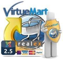 Disponible VirtueMart 2.6.12 con oferta especial para la pasarela de pagos Realex