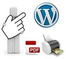 Convertir un artículo de WordPress en formato de impresión o PDF
