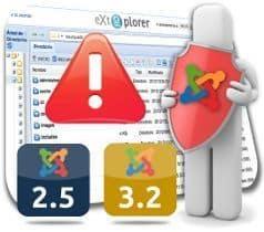 Liberado eXtplorer 2.1.6 para Joomla 2.5 y 3.3 - Actualización de Seguridad