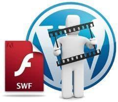 Insertar archivos Flash en WordPress ¿es tan difícil?