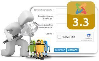 Integrando No-reCAPTCHA en el formulario de registro de Joomla 3
