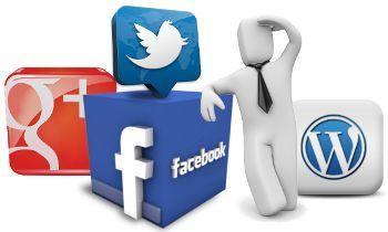 Iconos de redes sociales siempre visibles en WordPress