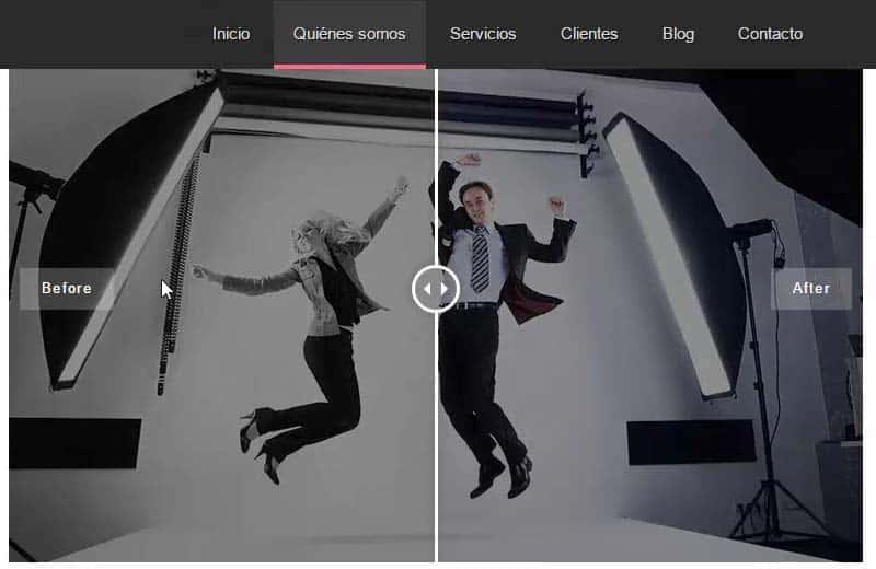 Antes y Despues en imagenes