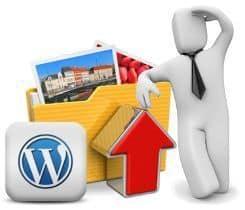 upload path en WordPress