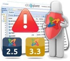 Liberado eXtplorer 2.1.7 para Joomla 2.5 y 3.3 – Actualización de Seguridad