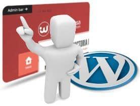 Oculta la barra de administración de WordPress en el frontal sin desactivarla