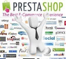 Iconos de redes sociales en PrestaShop