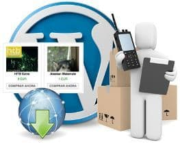 Venta de productos digitales en WordPress con pago vía Paypal