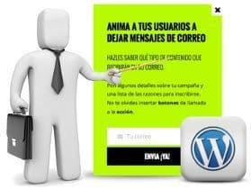Avisos popup con scroll 'responsive' de llamada a la acción a visitantes en WordPress