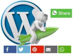 Integra WhatsApp en los iconos de redes sociales de WordPress