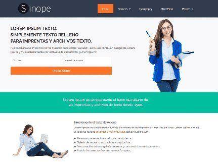 ejemplo empresa wordpress
