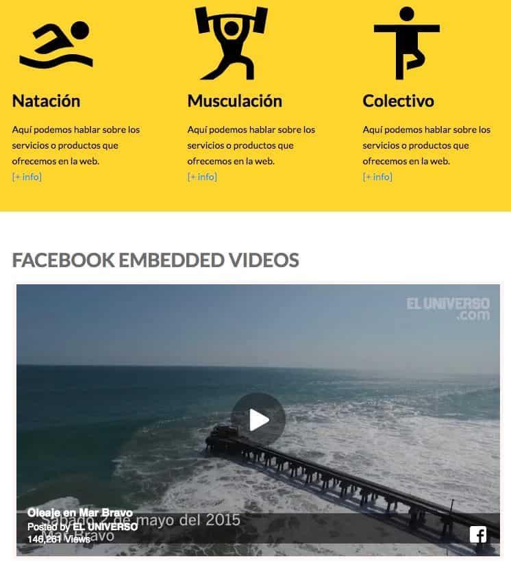 Videos Facebook Joomla