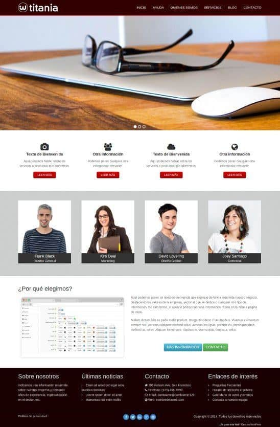 descargar wordpress español