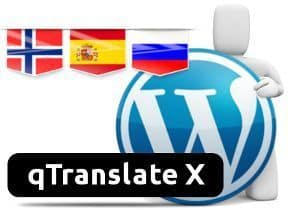 Multiidiomas en WordPress con qTranslated X - Conmutador de Idiomas