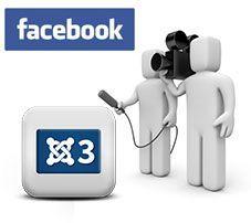 Insertar videos de Facebook en un sitio web con Joomla