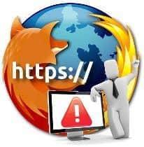 El certificado de seguridad del sitio no es de confianza [Firefox]
