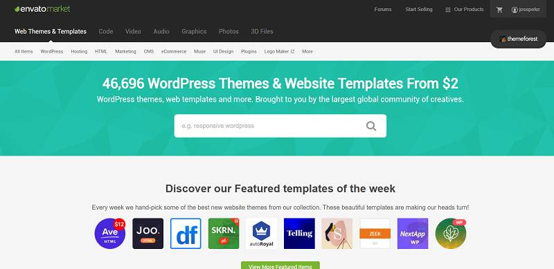 Plantillas Themeforest WordPress