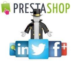 Configura los iconos de redes sociales en el Pack Carme de PrestaShop