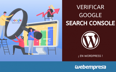 Verificar propiedad de Dominio en Search Console