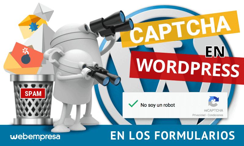 CAPTCHA en WordPress