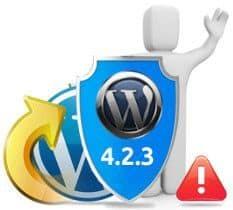 Disponible WordPress 4.2.3, versión de seguridad