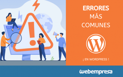 8 errores comunes al empezar con WordPress