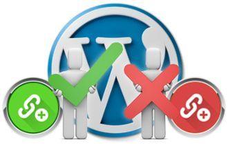 Añadir enlaces nofollow en WordPress externos