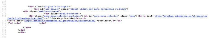 Después de aplicar el plugin css wordpress