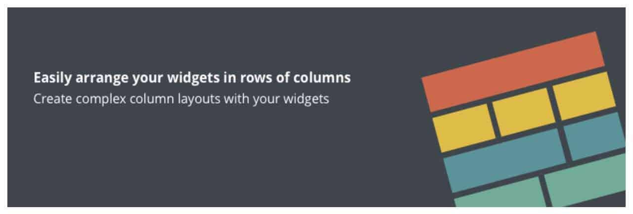 Plugins Widgets en Columnas