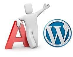 Letra capital en WordPress
