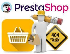 Errores 404 en PrestaShop
