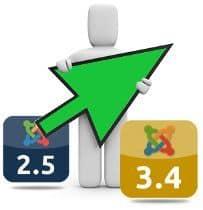 Actualizar Joomla 2.5.28 a Joomla 3.4.x ¡rápida y fácilmente!