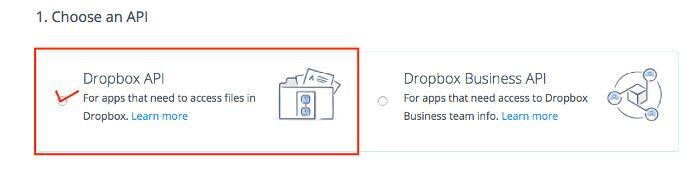 Cómo crear una App en DropBox