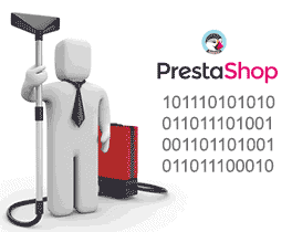 Eliminar datos de PrestaShop