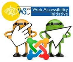 Accesibilidad en Joomla ¡tu web mas WAI!