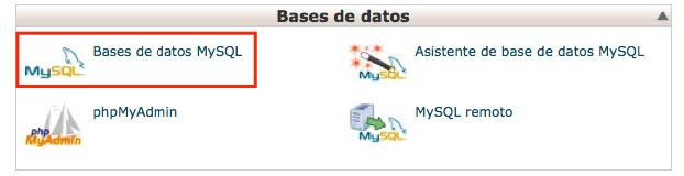 MySQL Bases de Datos