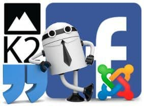 comentarios de Facebook en K2