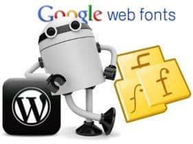 Supreme Google Webfonts en WordPress