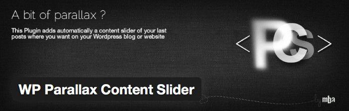 WP Parallax Content Slider