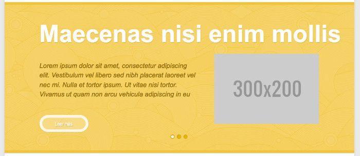 Resultado del slider tras corregir el CSS