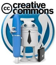 Licencia de contenidos en WordPress