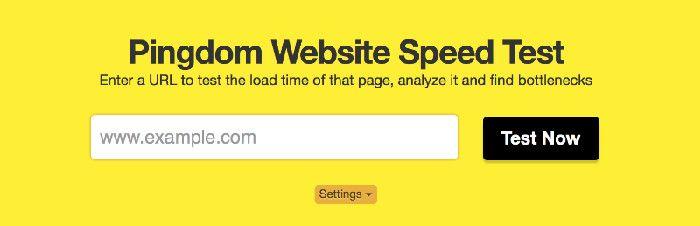"""""""mejorar la velocidad web con Pingdom Tools"""